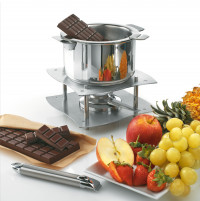 Cristel Cristel CASTELINE REMOVABLE Fondue Set with Sauce Pan 16cm-20