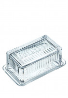 Kitchencraft Kitchencraft Glass butter dish-20