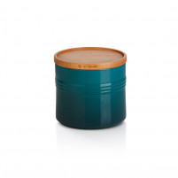 Le Creuset Le Creuset Deep Teal Pot with lid XL-20