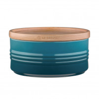 Le Creuset Le Creuset Deep Teal Pot with lid L-20
