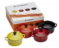 Le Creuset Le Creuset Set of 4 Mini Cocotte Yellow/Red-20