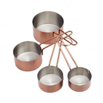 Kitchencraft Kitchencraft Set 4 measures tablespoon copper color-20
