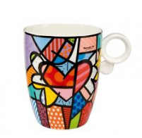 Romero Britto Romero Britto Taza de Porcelana FLYING HEART-20