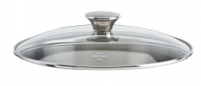 Cristel Cristel Cookway Master Glass Lid & Stainless Steel Knob 18cm-20