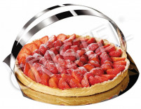 Cristel Cristel COMPLEMENTS Quick Turn Out Flan Tin 28cm-20