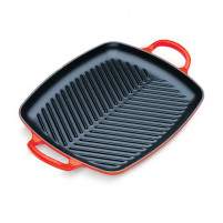 Le Creuset Le Creuset Cherry Rectangular Evolution Grill-20