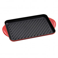 Le Creuset Le Creuset Traditional cherry-colored rectangular grill-20