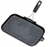 Le Creuset Le Creuset Rectangular Cast Iron Grill Black-20