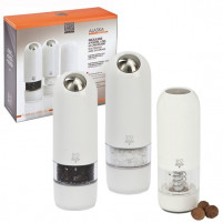 Peugeot Peugeot Trio ALASKA Electric pepper mill with, salt grinder and gift Nutmeg electric-20
