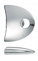 Cristel Cristel Chromed Zenith Removable Side Handle-20