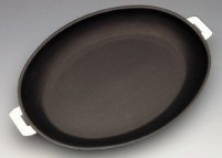 Cristel Cristel Oval Non Stick Frying Pan Mutine Removable-20