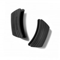 Le Creuset Le Creuset Black Silicone Side Handle Pot Grips x2-20