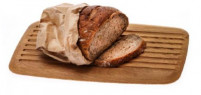 Ecplus Ecplus Oak wood Cutting board for bread-20