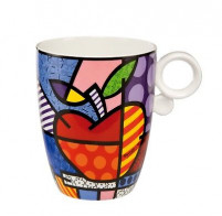 Romero Britto Romero Britto Taza de Porcelana BIG APPLE-20
