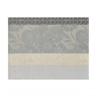 Le Jacquard Francais Le Jacquard Francais Coated Placemat Brooklyn Metal 48 x36cm 100% cotton-20