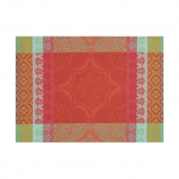 Le Jacquard Francais Le Jacquard Francais Coated Placemat Bastide Red Pepper-20