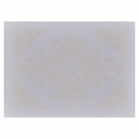 Le Jacquard Francais Le Jacquard Francais Coated Placemat Syracuse Beige-20