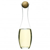 Sagaform Sagaform Wine Water carafe with oak stopper-20