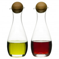 Sagaform Sagaform Oil Vinegar bottles with oak stoppers-20