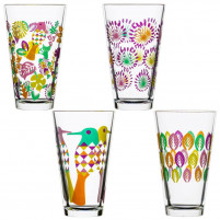 Sagaform Sagaform Set of 4 Glasses with differents designs-20