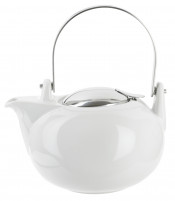 Cristel Cristel White Porcelain Tea Pot 1,35 Litres-20