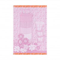 Le Jacquard Francais Le Jacquard Francais Tea Towel Lunch Box Rose 70 x 50cm-20