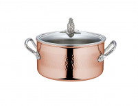 Ruffoni Ruffoni OMEGNA CUPRA Copper Stock Pot 24cm-20