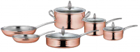Ruffoni Ruffoni OMEGNA CUPRA Copper Set of 10 pieces-20