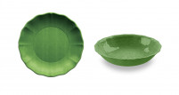 Touch Mel Touch Mel Serving Bowl Set of 2 unid. Green YORK-20
