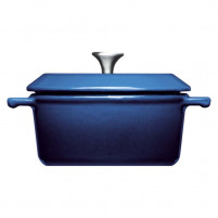 Woll Woll Set of 2 cast iron mini pot blue-20