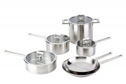 Cristel STRATE FIXE Cookware set 10 pieces-04