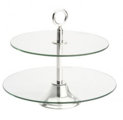Two-tiered tray CELESTE