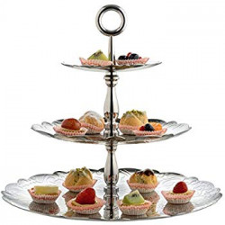 Alessi Two-tiered tray Dressed-022
