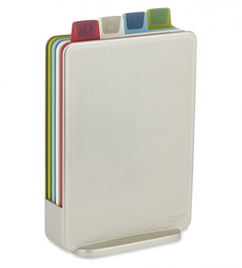 Index Chopping Board Set Silver
