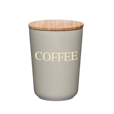 Bamboo pot for coffee