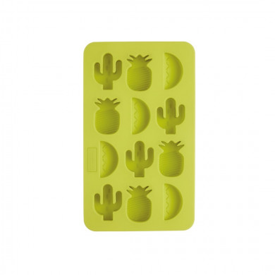 Silicone Ice Cube Tray With Tropical Shapes