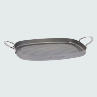 Steel grill frying pan MINERAL B ELEMENT