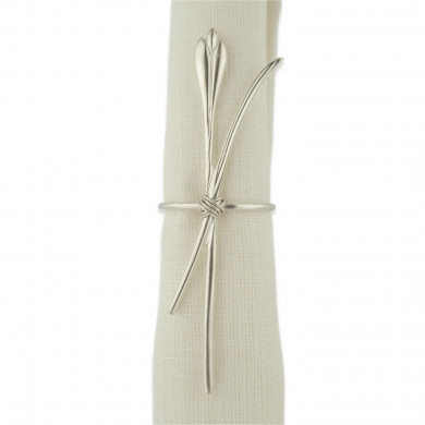 Silver Plated Napkin Ring CROCUS