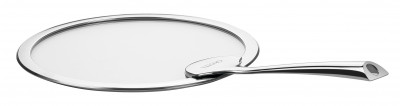 CASTELINE FIXE Flat Glass Lid with Long Handle