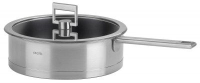 STRATE FIXE Stainless sauté pan - Excalibur non-stick coating