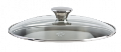 Cookway Master Glass Lid & Stainless Steel Knob 16cm