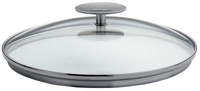 Set of 3 Rounded Glass Lids 16cm-20cm