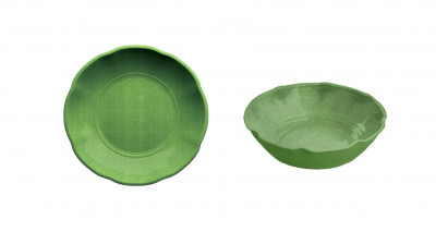 Soup Plate Set of 2 unid. Green YORK
