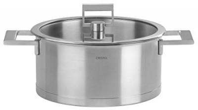 Strate fixe Stew pan with glass lid 18cm