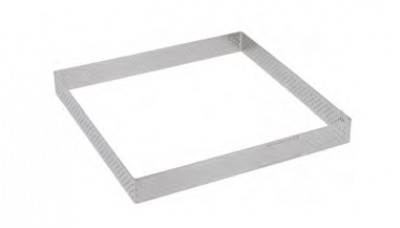 Stainless Steel Square mould 17,5cm