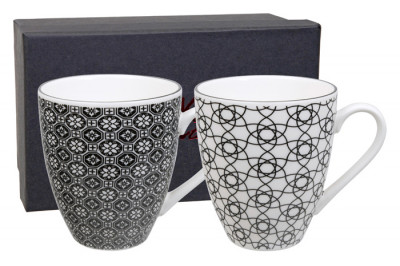 Mug Set 2 pcs NIPPON BLACK