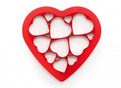 Cookie Puzzle Hearts