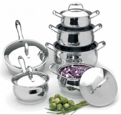 12 pc Cookware Set ZENO