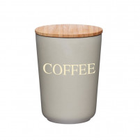 Kitchencraft Kitchencraft Bote para café bamboo-20